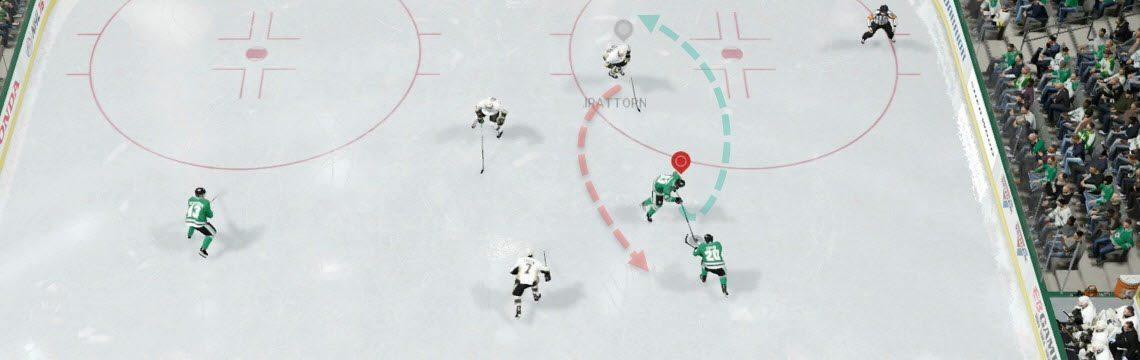NHL 16 Half Spin