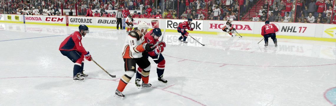 NHL 17 Net-front Battle Tie Up and Extended Stick Lift Tutorial