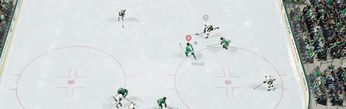 NHL shot block