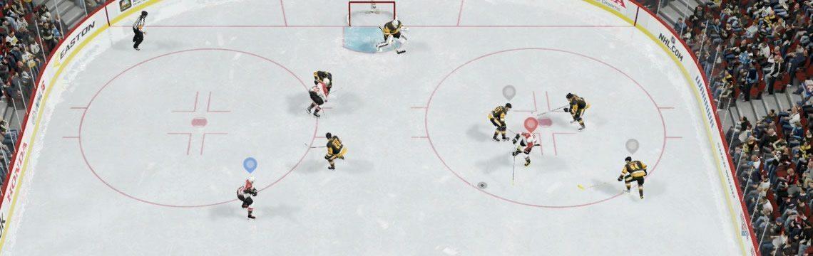 NHL 16 EASHL One Timer Example