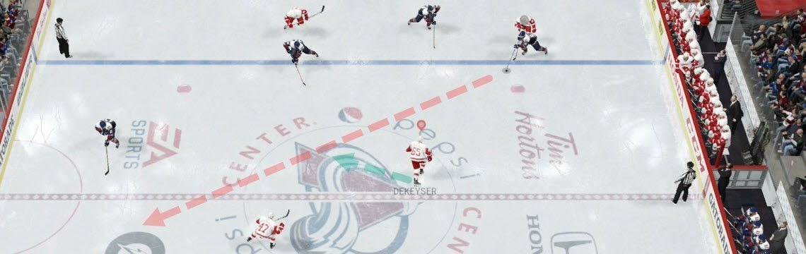 How To Intercept Passes in NHL 17