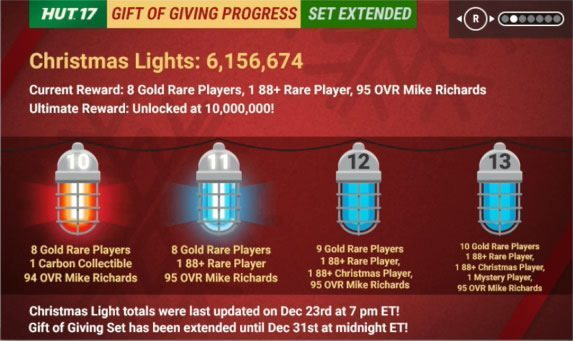 Gift of Giving Blue Light Rewards Revealed!