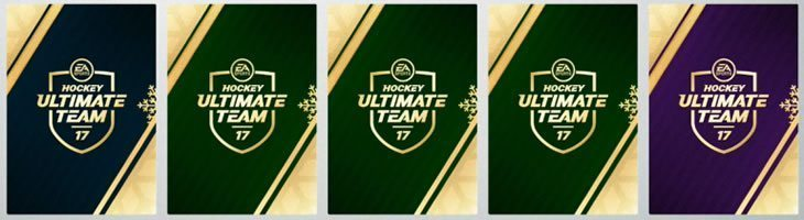 Hockey Ultimate Team Christmas Collectible