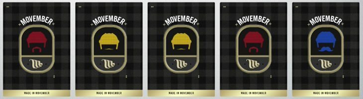 Hockey Ultimate Team Movember collectible card