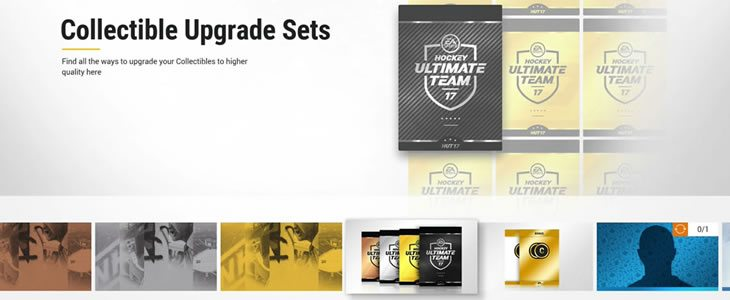 HUT Collectible Upgrade sets