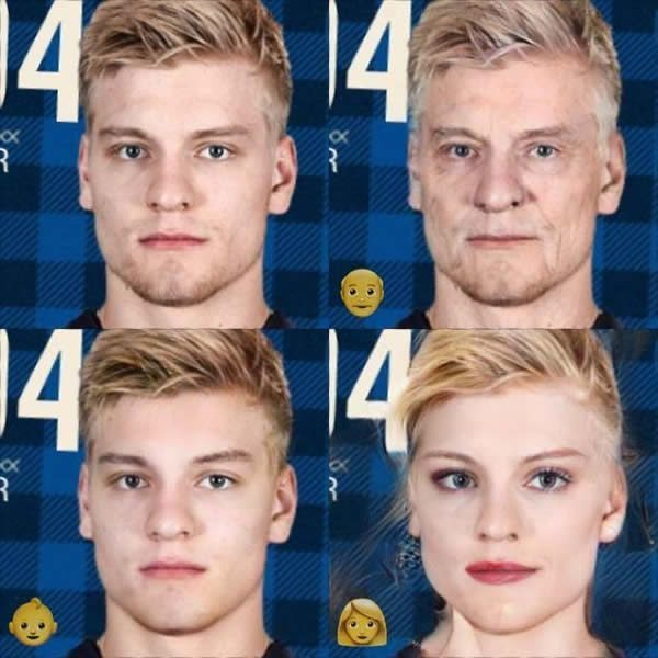 Parayko faceapped