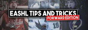 EASHL Tips and Tricks from King Bling: Forward Edition!