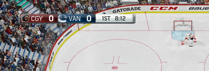 Small scoreboard overlay in NHL