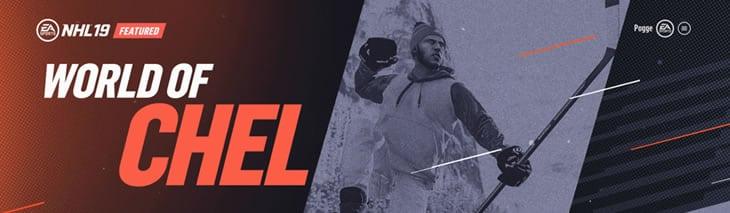 World of Chel banner NHL 19