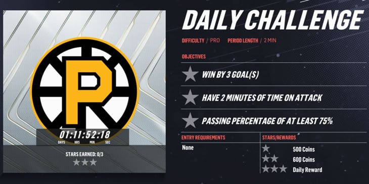 Evolution daily challenges to earn daily rewards that could include an evolution collectible