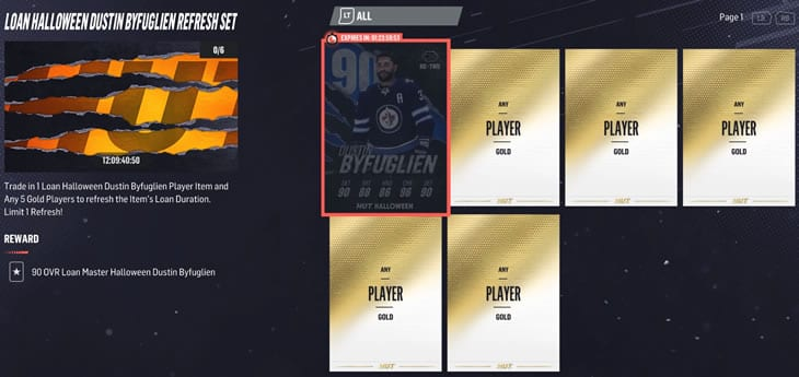 Extend your 90 Byfuglien loan card another two days.